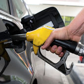 бензин — Стоковое фото