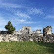 Famous place of Tulum — Stock Photo