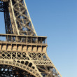 Part of the Eiffel tower — Stock Photo
