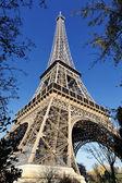 Eiffeltornet under hösten — Stockfoto