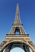 View of the famous Eiffel tower — Stock Photo