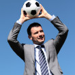 Coach with ball — Stockfoto #8870042