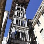 Famous Santa Justa Elevator — Stock Photo #8893449