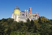 Weergave van pena kasteel — Stockfoto