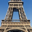Part of the famous Eiffel Tower — Foto Stock