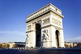 View of famous Arc de Triomphe — Stock Photo