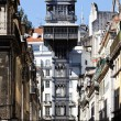 The famous Santa Justa Elevator — Stock Photo