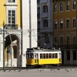Tram square — Stock Photo