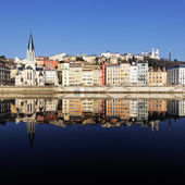 Lyon reflection — Stock Photo