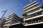 Construction de bâtiments — Photo