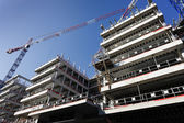 Costruzione di edifici — Foto Stock