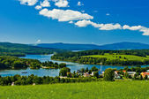 Lipno lake — Stock Photo