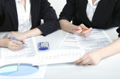 Managers work — Stock Photo