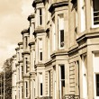 Terraced Houses — Stock Photo