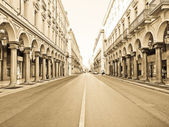 Via Roma, Turin — Stock Photo