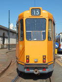 A tram — Stock Photo
