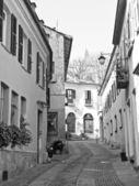 Staré město rivoli, itálie — Stock fotografie