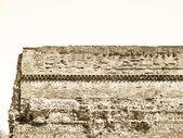 Roman Wall, Turin — Stock Photo