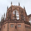 Stock Photo: Coventry Cathedral ruins