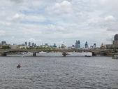 Реке Темзе в Лондоне — Стоковое фото