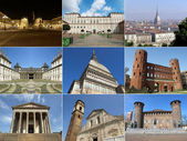 Turin landmarks — Stock Photo