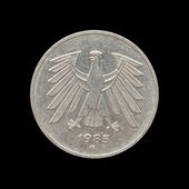 German mark coin — Stock Photo