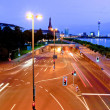 Crossroads at night — Stock Photo #9005281