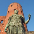 Stock Photo: Romstatue of Augustus