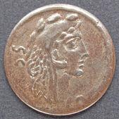 Римская монета — Стоковое фото