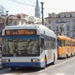 Turin bus - Stock Photo