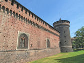 Castello sforzesco, mailand — Stockfoto