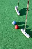 Mini curso de golf — Foto de Stock