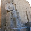 Statue of Ramses II in Luxor Temple — Stock Photo #7974127