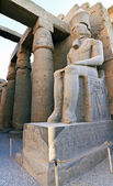 Inside view of Luxor temple — Stock Photo