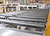 Roller conveyer — Stockfoto