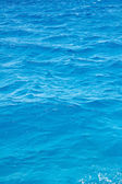 Blue rippled sea water — Stock Photo