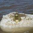 Ship bell of Titanic ship — Stock Photo