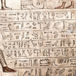 Egyptian hieroglyphics — Stock Photo #10145036