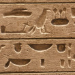 Egyptian hieroglyphic — Stock Photo #10145232