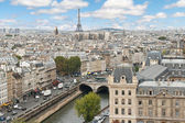 Panoramic of Paris — Stock Photo