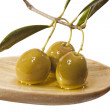 Olive branch - Stock Photo