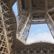 Under the Eiffel tower — Stock Photo #9350063