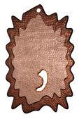 3d bronze comma — Stock Photo