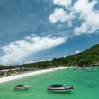 Tropical seaside resort - Foto Stock