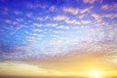 Vista de um céu espetacular — Fotografia Stock