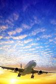 Jet in a sky — Foto Stock