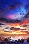 Majestic sunset — Stock Photo