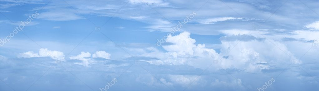 Blue cloudy sky — Stock Photo #8883046