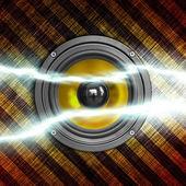 Power of sound — Stock Photo