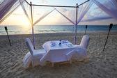 Seaside cafe — Stock Photo